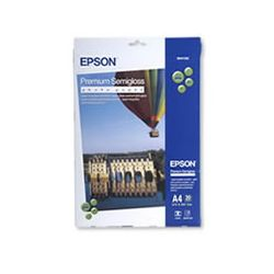 Epson C13S041332 S041332 Premium Semigloss A4 Photo Paper 251gsm - 20 Sheets