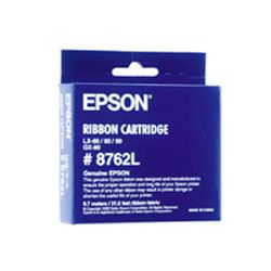 Epson C13S015053 Black Fabric Ribbon Cartridge (3000K Characters) - GENUINE