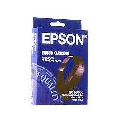 Epson C13S015066 Black Fabric Ribbon Cartridge (6000K Characters) - GENUINE