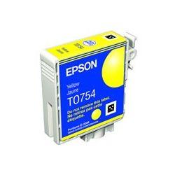 Epson C13T075490 Yellow Ink Cartridge - GENUINE