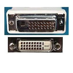 8Ware DVI-DDE2 DVI-D Dual Link Extension M-F Cable 2m