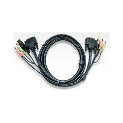 Aten 2L-7D02U DVI KVM Cable 1.8m