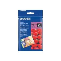 Brother BP-61GLP Premium Glossy Photo Paper (20 Sheets) for MFC
