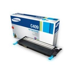 Samsung CLT-C409S/SEE Cyan Toner Cartridge (1K) - GENUINE