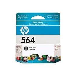 HP CB317WA No 564 Photo Black Ink Cartridge (1.5K) - GENUINE