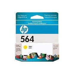 HP CB320WA No 564 Yellow Ink Cartridge (0.3K) - GENUINE