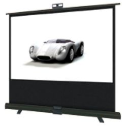 Herma 2C409 2C Show IT 80 16:9 Matte White Portable Pull Up Projector Screen