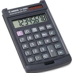 Canon LS390HBL 8 Digit Calculator