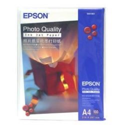 Epson C13S041786 A4 Photo Quality Inkjet Paper - 100 Sheets