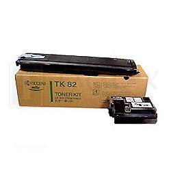 Kyocera 37009011 TK-82K Black Toner Kit - GENUINE