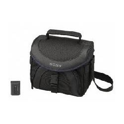 Sony ACCFV50B Camcorder Accessory Kit, Includes LCS-X21 Carry Case & NP-FV50 Battery