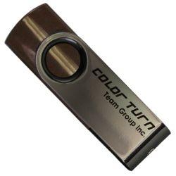 Team TG008GE902CX 8GB Colour Turn USB 2.0 Drive - Bronze