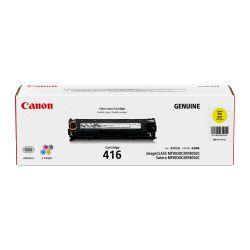 Canon CART416Y Yellow Toner Cartridge (1.5K) - GENUINE