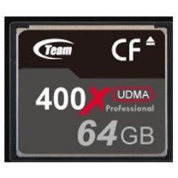 Team TG064G2NCFDX 64GB CompactFlash Card 400X