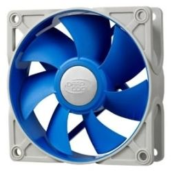 Deepcool Ultra Silent 80mm x 25mm Ball Bearing Fan with Anti-Vibration Frame