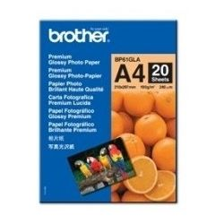 Brother BP61GLA Glossy Paper 20 Sheets