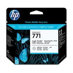 HP CE020A No.771 Photo Black and Light Grey DesignJet Printhead - GENUINE