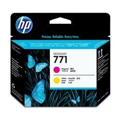 HP CE018A No.771 Magenta and Yellow DesignJet Printhead - GENUINE