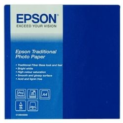 Epson C13S045050 S045050 Traditional Photo Paper A4 - 25 Sheets