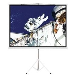Brateck PSDA65 65 (1.45m x 0.81m) Tripod Portable Projector Screen (16:9 ratio) - Black