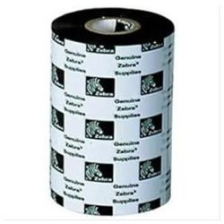 Zebra J4800BK11007 J4800 Resin Ribbon 110mm x 74m to Suit Desktop Printers
