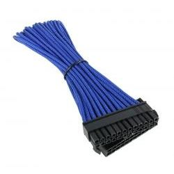 BitFenix Sleeved SATA Power Cable 20cm 1x Molex to 4x SATA - Blue/Black