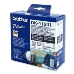 Brother DK-11201 White Standard Address Label