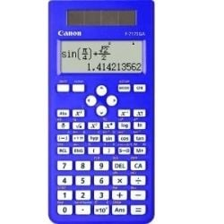 Canon F717SGABL Dual Power Scientific Calculator - Blue