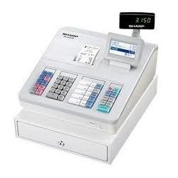 Sharp XEA207W Cash Register with Raised Keyboard