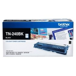 Brother TN-240BK Black Toner Cartridge (2.2K) - GENUINE