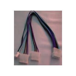 CBPSPL 5.25M to 2 x 5.25F Power Splitter Cable