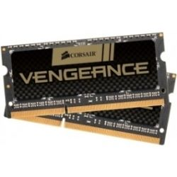 Corsair 16GB (2x 8GB) Vengeance DDR3 1600MHz CL10 Unbuffered SODIMM Memory for 2nd Generation Intel Core i5 and i7notebooks