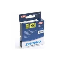 Dymo SD40918 D1 Label Cassette 9mm x 7m - Black on Yellow