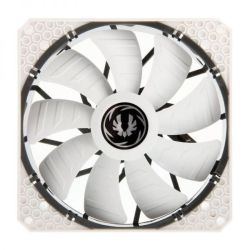 BitFenix Spectre Pro PWM Non-LED. Control and monitor from MB.140mm White Fan, Fluid Dynamic Bearing, Speed: Speed: 1200rpm, Noise:22.8dba
