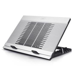 Deepcool NB-N9 N9 Notebook Cooler (Up To 17), Angle Adjustable, Antislip, Aluminium, 18cm Fan, 3x USB