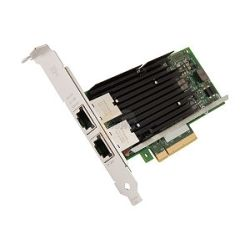 Intel X540T2 Intel Ethernet Converged Network Adapter X540-T2, PCIe v2.1, RJ-45 Copper, Low Profile&Full Height