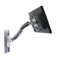 Ergotron 45-228-026 MX Wall Mount LCD Arm Polished Aluminium