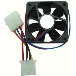 CSF80B 80mm Case Fan (Black, 4-Pin molex)