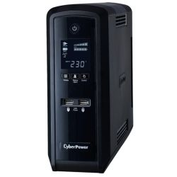 CyberPower CP1500EPFCLCD PFC Sinewave Series 1500Va Tower UPS with LCD - 2yr Adv. Replacement and incl. Int. Batteries
