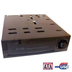 EZCool Internal 3.5 SATA HDD USB Docking Station (5.25 Bay, Hot Swap)