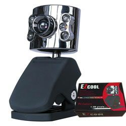 EZCool 1.3M Pixel PC USB Webcam (Not for Win7)