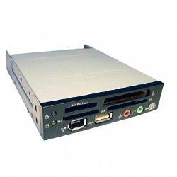 EZCool ACR103A Internal Cardreader w/usb 1394 Black, Silver, Beige