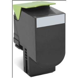 Lexmark 80C80K0 808K Black Return Toner Cartridge, 1K, CX310/410/510