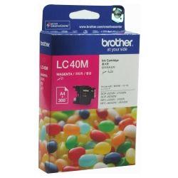 Brother LC-40M Magenta Ink Cartridge (0.3K) - GENUINE