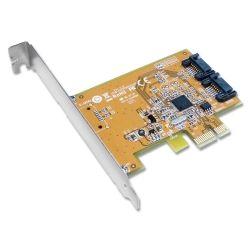 Sunix SATA2600 PCIe SATA 3.0 Card - 2 Internal Ports