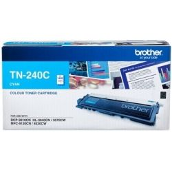 Brother TN-240 Cyan Toner Cartridge (1.4K) - GENUINE