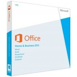 Microsoft Office Home and Business 2013 32/64bit Product Key (No Disc)