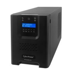 CyberPower PR1000ELCD Pro Series 1000VA Tower UPS with LCD - 3yr Adv. Replacement
