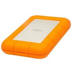 LaCie 2TB Rugged Mini Mobile Portable Hard Drive HDD - USB 3.0, 2 inch 1/2 (5400rpm, 8ms)