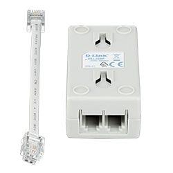 D-Link DSL-15MF ADSL2+ Microfilter/Splitter